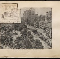 Image of [Subway work on City Hall Park] - Eugene L. Armbruster photographs and scrapbooks