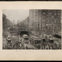 Image of [Subway tunnel 1902] - Eugene L. Armbruster photographs and scrapbooks