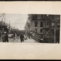 Image of The NE corner of the Murray Hill Hotel  - Eugene L. Armbruster photographs and scrapbooks