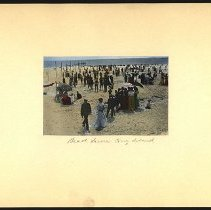Image of Beach Scene Coney Island  - Eugene L. Armbruster photographs and scrapbooks