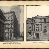 Image of The Hanover National Bank of New York & Harvard House  - Eugene L. Armbruster photographs and scrapbooks