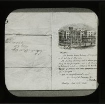 Image of [Brooklyn Female Academy invitation] - Packer Collegiate Institute records