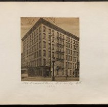 Image of Old Pierrepont House  - Eugene L. Armbruster photographs and scrapbooks
