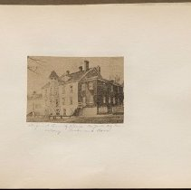 Image of Original country house - Eugene L. Armbruster photographs and scrapbooks