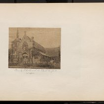Image of Trinity P.E. Church in East New York  - Eugene L. Armbruster photographs and scrapbooks