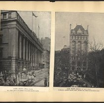Image of [United States Custom House and Union Trust Company of New York]  - Eugene L. Armbruster photographs and scrapbooks