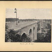 Image of Washington Bridge  - Eugene L. Armbruster photographs and scrapbooks