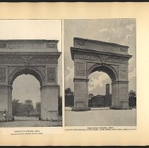 Image of Washington Memorial Arch - Eugene L. Armbruster photographs and scrapbooks