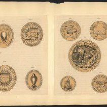 Image of [New York Government Seals]  - Eugene L. Armbruster photographs and scrapbooks