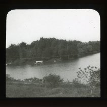 Image of [Row boats in Prospect Park] - Adrian Vanderveer Martense collection
