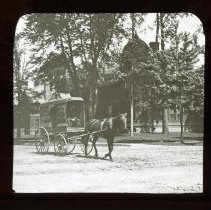 Image of [Horse-drawn cart] - Adrian Vanderveer Martense collection