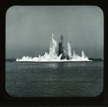 Image of [Explosion at Hell Gate] - Adrian Vanderveer Martense collection