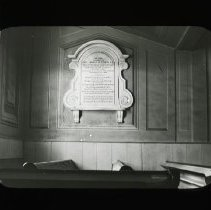 Image of [Reverend Thomas M. Strong Memorial, Flatbush Dutch Reformed Church] - Adrian Vanderveer Martense collection