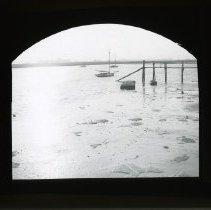 Image of [Dock at Sheepshead  Bay] - Adrian Vanderveer Martense collection