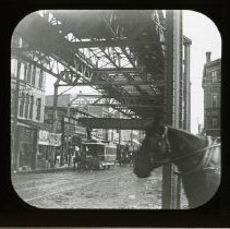 Image of Fulton Street above Flatbush Avenue - Adrian Vanderveer Martense collection