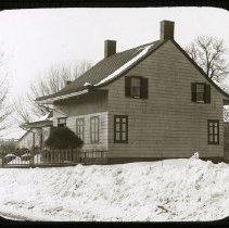 Image of Schenck House, 5217 Church Avenue - Ralph Irving Lloyd lantern slides