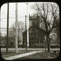 Image of New Utrecht Dutch Reformed Church - Ralph Irving Lloyd lantern slides