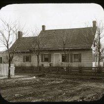 Image of Dr. Sheppard's House. - Ralph Irving Lloyd lantern slides