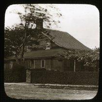 Image of Old House on Mill Lane - Ralph Irving Lloyd lantern slides