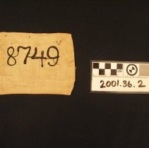 Image of 2001.36.2 - Badge, Identification