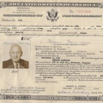 Image of Certificate of Naturalization for Hermann Baermann