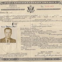 Image of Certificate of Naturalization for Eric Blumenthal
