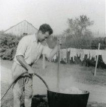 Image of Washing The Laundry
