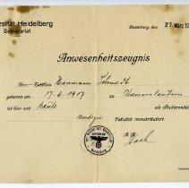 Image of NSDAP Certificate