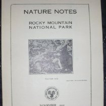Image of Nature Notes of Rocky Mountain National Park Collection - 1982.079.009