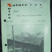 Image of Nature Notes of Rocky Mountain National Park Collection - 1982.079.030