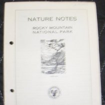 Image of Nature Notes of Rocky Mountain National Park Collection - 1987.003.002