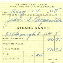 Image of Payment Stub