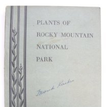 "Image of ""Plants of Rocky Mountain National Park"" by Ruth E. Ashton
