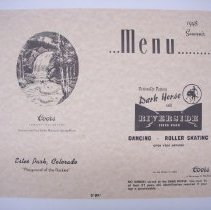 Image of 1981.080.001 - menu
