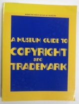 Image of 346.730 SHA - A guide to intellectual property for museums.