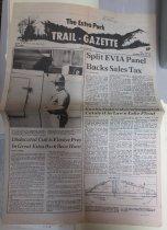 Image of Article from Estes Park Trail-Gazette
