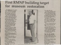 Image of Article about restoration of National Park Service Building