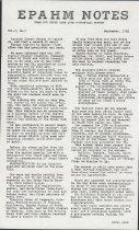Image of Estes Park Area Historical Museum Newsletter Volume 2, Number 2