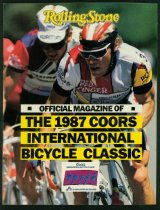 Image of Pre-race guide for 1987 Coors International Bicycle Classic