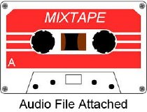 Image of 1987.064.001a - Audiocassette