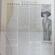Image of article in The Saturday Evening Post, August 31, 1912 written by Enos Mills