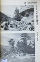 Image of 978.868 HIC - Richly illustrated with historic photographs and postcards, this history of Estes Park, from the mid-1800s until it's establishment as a town in the early 1900s, was researched and written by a Denver Post staff writer.