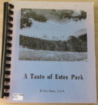 Image of 641.59788 EPI 1976 - A collection of recipes contributed by members of the Eta Omega Chapter of Epsilon Sigma Alpha includes appetizers, beverages, salads, breads, meats, main dishes, vegetables, cakes and pies, cookies and candy, other desserts, and soups.