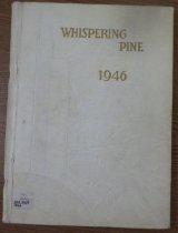 Image of 373.3978 WHI 1946 - The 1946 volume of the Estes Park High School yearbook, titled The Whispering Pine.