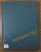 Image of 373.3978 WHI 1954 - The 1954 volume of the Estes Park High School yearbook, titled The Whispering Pine.