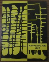 Image of 373.3978 WHI 1968 - The 1968 volume of the Estes Park High School yearbook, titled The Whispering Pine.