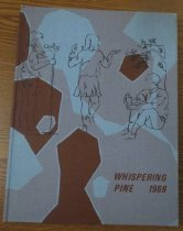Image of 373.3978 WHI 1969 - The 1969 volume of the Estes Park High School yearbook, titled The Whispering Pine.