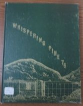 Image of 373.3978 WHI 1970 - The 1970 volume of the Estes Park High School yearbook, titled The Whispering Pine.
