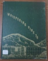 Image of 373.3978 WHI 1976 - The 1976 volume of the Estes Park High School yearbook, titled The Whispering Pine.