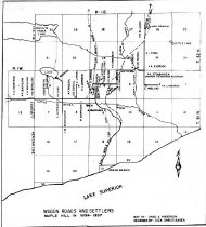 Image of Maple Hill Settlers Map 1896-97